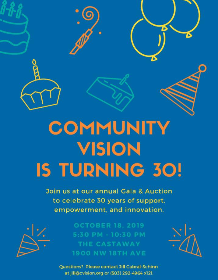 Community Vision's Annual Gala 2019 @ The Castaway | Portland | Oregon | United States