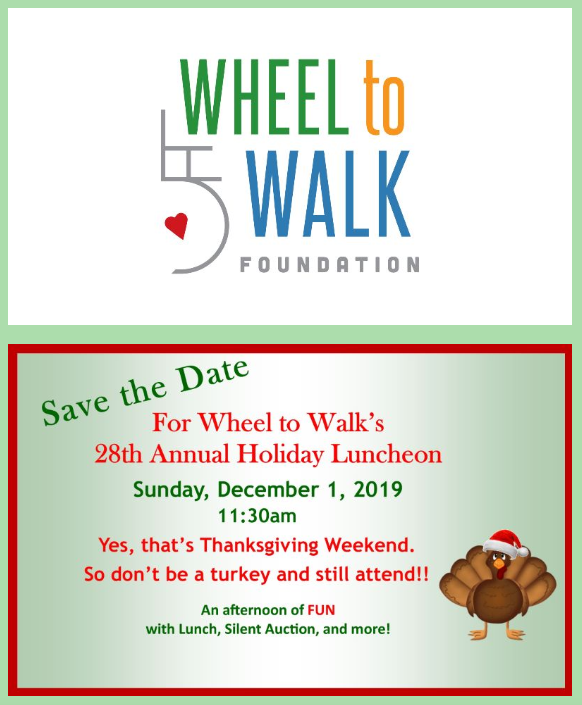 Wheel to Walk Foundation: Annual Holiday Luncheon 2019 @ DoubleTree by Hilton   Portland   Oregon   United States