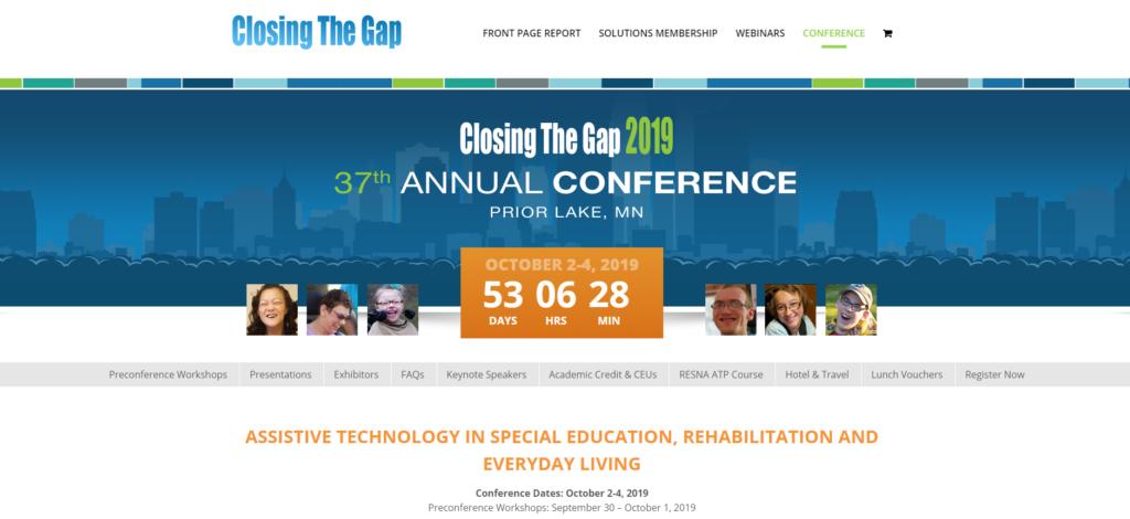 Closing the Gap 2019 @ Minneapolis, MN: Mystic Lake Center and Casino Hotel   Prior Lake   Minnesota   United States